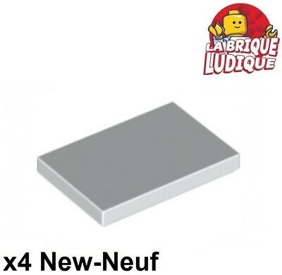 Lego 10x Tile plaque lisse 2x2 with Groove gris foncé//dark bluish gray 3068b NEW