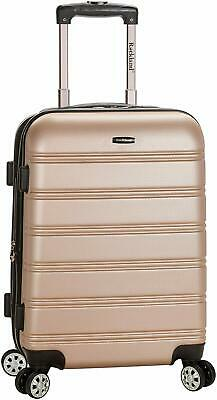 Rockland Luggage Melbourne 20 Inch Expandable Carry On Champagne One Size