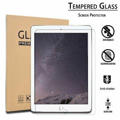 """For Apple iPad 6th Generation 9.7"""" 2018 Clear HD Tempered Glass Screen Protector"""