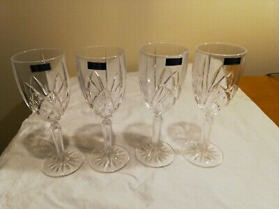 Marquis by Waterford Brookside White Wine Glasses, Set of 4, NEW