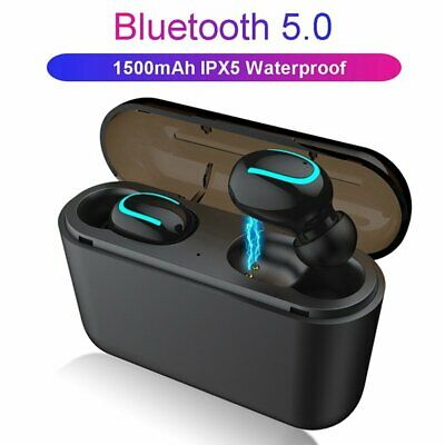 Wireless Earphones TWS Bluetooth 5.0 Stereo In-Ear Earbuds For iPhone Samsung