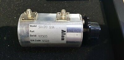 Alan Industries Inc 50V70 SMA RF Adjustable Step Attenuator