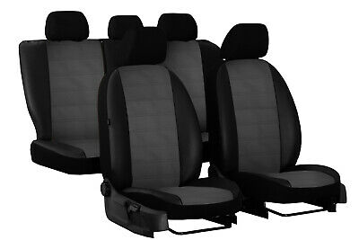 Eco Leather Embossed Tailored Seat Covers For Toyota C-Hr 2017 2018 2019