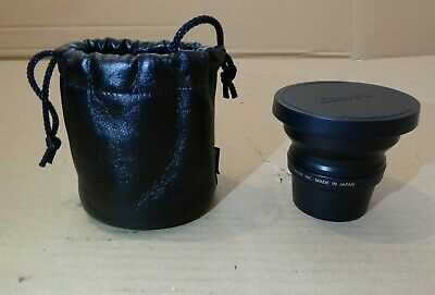 CANON WIDE CONVERTER WC - D58 0.8x with Storage Pouch