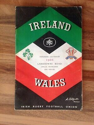 Ireland V Wales Rugby Union Five Nations Programme