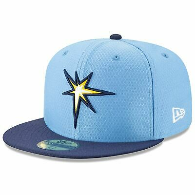 [11900017] Mens New Era MLB 2019 Batting Practice 59FIFTY Fitted Tampa Bay Rays