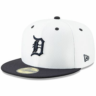 [11900040] Mens New Era MLB 2019 Batting Practice 59FIFTY Fitted Detroit Tigers