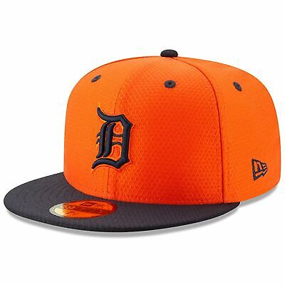 [11900039] Mens New Era MLB 2019 Batting Practice 59FIFTY Fitted Detroit Tigers