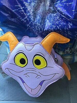 Disney Parks Epcot Figment Loungefly Crossbody Bag Brand New With Tags