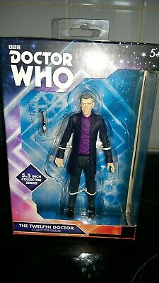 Doctor Who 12th Dr In Purple Shirt New In Box
