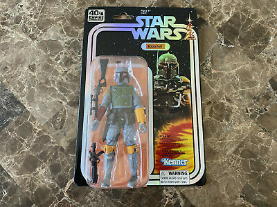 "Hasbro Boba Fett 6"" SDCC 2019 Star Wars Black Series 40th Anniversary Figure"