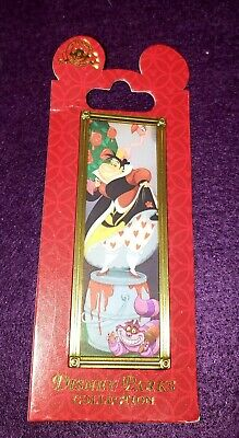 Disney Parks Haunted Mansion Queen of Hearts Stretching Portrait Pin