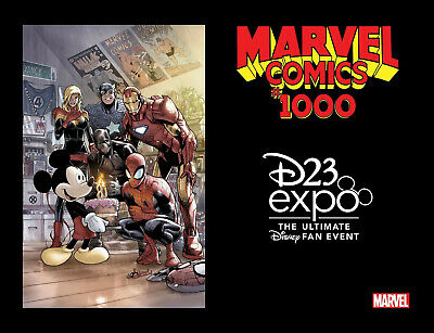Marvel Comics #1000 D23 Disney First Mickey Mouse EXPO Variant Cover Mint