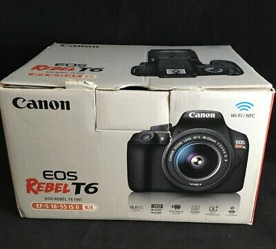 Canon EOS Rebel T6 18.0 MP Digital DSLR Camera Kit with 18-55 EF-S Lens - PARTS