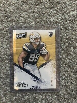 Joey Bosa Los Angeles Chargers 2016 Panini Day /699