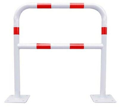Metalworks 758139265 Barrera Bar415Rb Ø40-1500X1000 Blanco/Rojo
