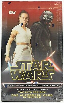 2019 Topps Star Wars Journey To The Rise of Skywalker FACTORY SEALED Hobby Box
