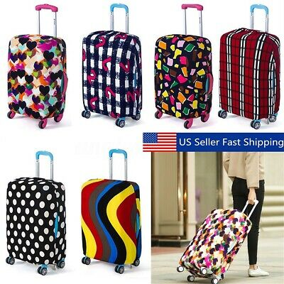 18-20'' Elastic Luggage Suitcase Cover Protective Bag Dustproof Case Anti USA A