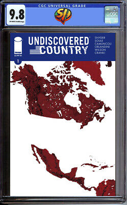 Undiscovered Country 1 CGC 9.8 11/6/19 Fast Track