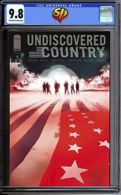 Undiscovered Country 1 Jock Variant CGC 9.8 11/6/19 Fast Track