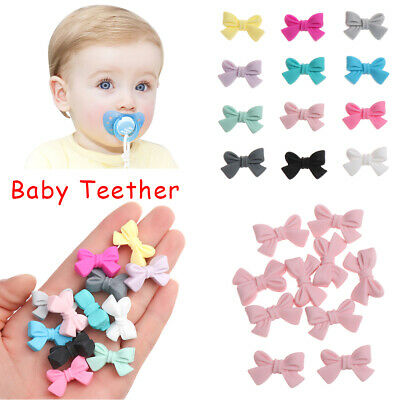Safety Food Grade BPA-Free Silicone Baby Teether Chew Beads Mom DIY Necklace