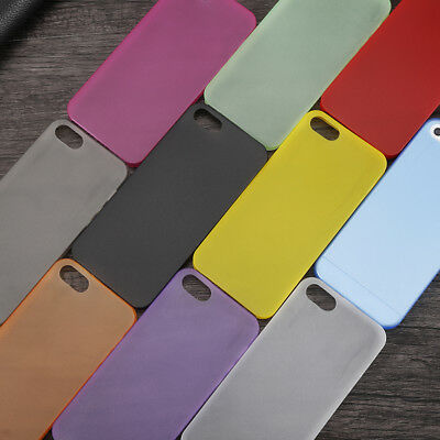 Luxury Ultra-thin Slim Matte Protective Back Case Cover For Iphone 5 6/6s 7 Hot1