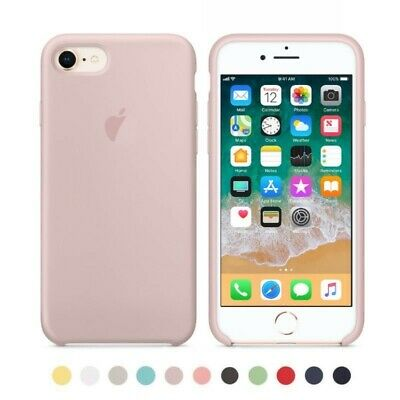 Carcasa Funda Original de Silicona Ultra Suave para iPhone 6S Plus
