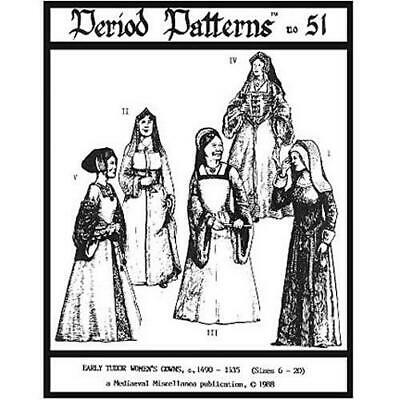 Early Tudor Woman's Gowns #51