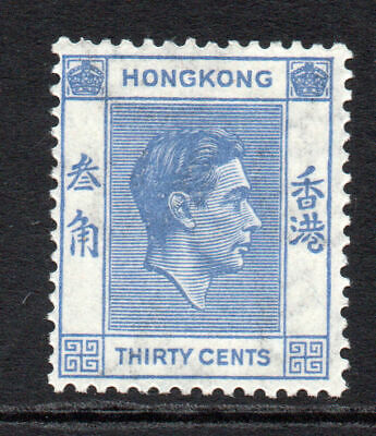 Hong Kong 30 Cent Stamp  c1938-52 Mounted Mint (66)