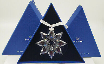 2013 Swarovski Christmas Ornament Star Snowflake Swarovski Annual Ornament