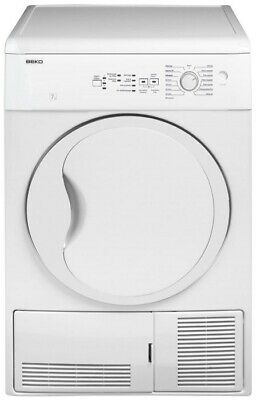 DC 7130 BEKO Freestanding Front-load Condensation White Rotary right