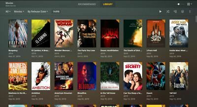 Plex No Expiry Subscription 15000 Movies + 5000 Boxsets = WORLDS BIGGEST SERVER