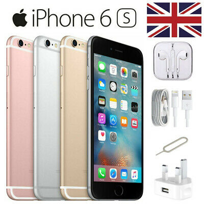 Apple iPhone 6s 16/32/64/128GB Gold/Rose/Silver/Grey Unlocked - FREE Delivery UK