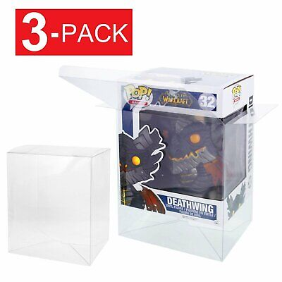 """3-Pack Collectibles Funko Pop Protector Case for 6"""" inch Vinyl Figures"""