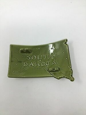 Vintage South Dakota Souvenir Ashtray
