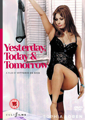 Yesterday, Today and Tomorrow DVD (2017) Sophia Loren, De Sica (DIR) cert 15
