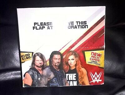 TOPPS WWE SLAM ATTAX UNIVERSE TRADING CARD full box 36 packets