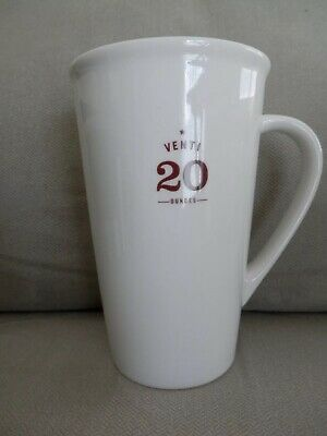 Starbucks Venti 20 oz. Coffee Mug Cup, Ivory Ceramic 2010, EUC