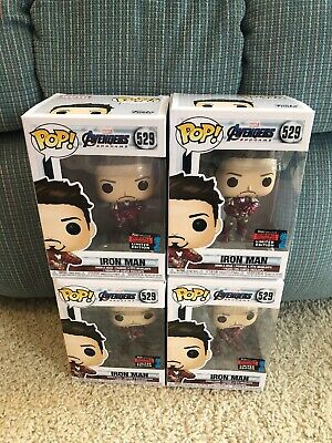 Funko Pop! Avengers Endgame Iron Man Gauntlet #529 2019 Nycc Amazon Shared Stark