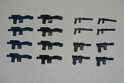 Selection Of 16 Replica Floating Weapons For Vintage Star Wars Figures