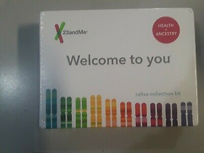 23andme Welcome to you-Health & Ancestry Saliva Collection Kit