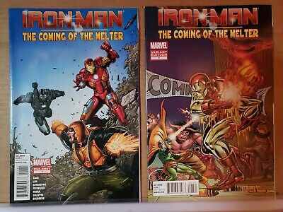 IRON MAN COMING OF THE MELTER 1 GIVEAWAY PROMO EL CAPITAN MOVIE THEATER VARIANT