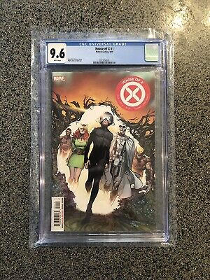 House of X #1 CGC 9.6 White Pages First Print Main Cover