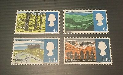 GB Great Britain QEII 1966 Landscapes fresh Unmounted mint stamps MNH