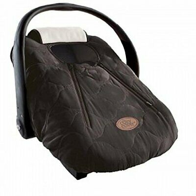 Cozy Cover Infant Carrier Cover, (Cozy warm Qulited Black)