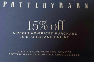 20% Off Pottery Barn Teen Entire Purchase Instore/Online Exp 10/31/19