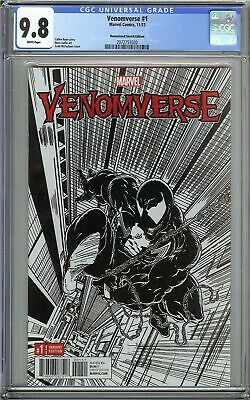 Venomverse #1 CGC 9.8 NM/MT Remastered Sketch Edition McFarlane Cover VENOM