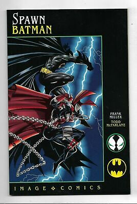 Spawn Batman #1 Very Fine/Near Mint Frank Miller Todd McFarlane  (D939)