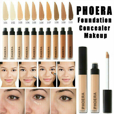 Fashion Foundation Concealer Makeup Full Coverage Matte Brighten Long Lasting