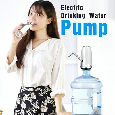 USB Cable Electric Drinking Water Pump Universal Gallon Bottled Water Dispenser